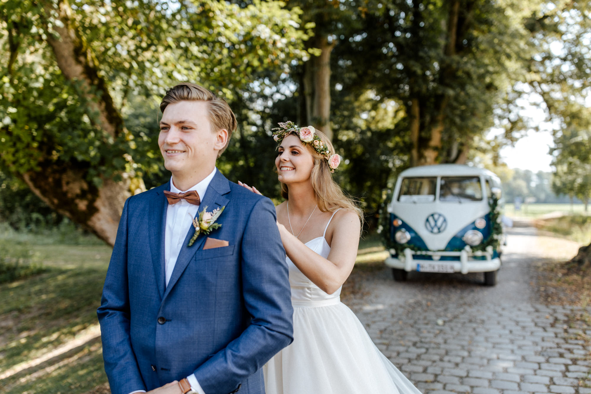 Hochzeit von Lina und Marcus auf Jagdschloss Grünau fotografiert von Yvonne & Rolland Photography